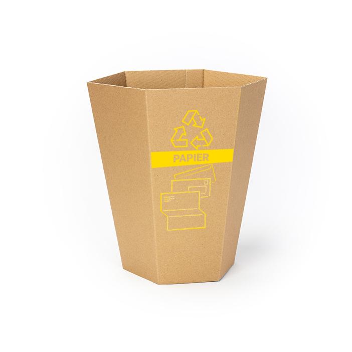 poubelle-en-carton-de-tri-papier